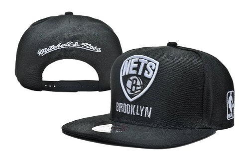 Brooklyn Nets NBA Snapback Hat XDF143